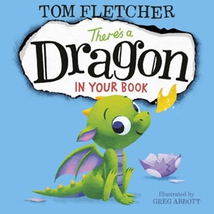 There's a Dragon in Your Book by Tom Fletcher (9780141376127) - HardCover - Children's Fiction