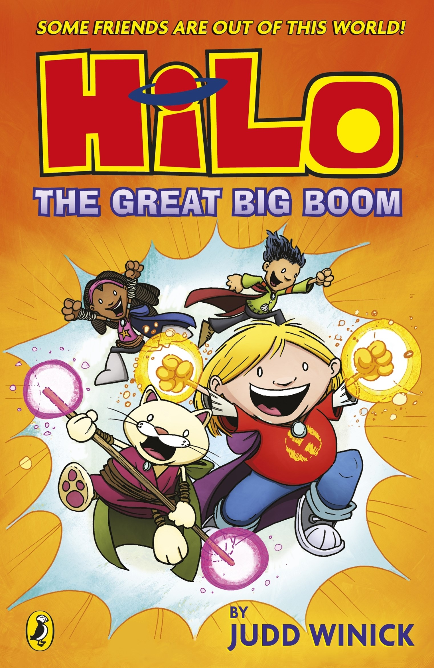 Hilo The Great Big Boom (Hilo Book 3)