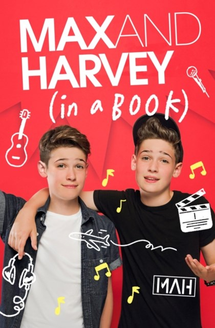 (ebook) Max and Harvey: In a Book
