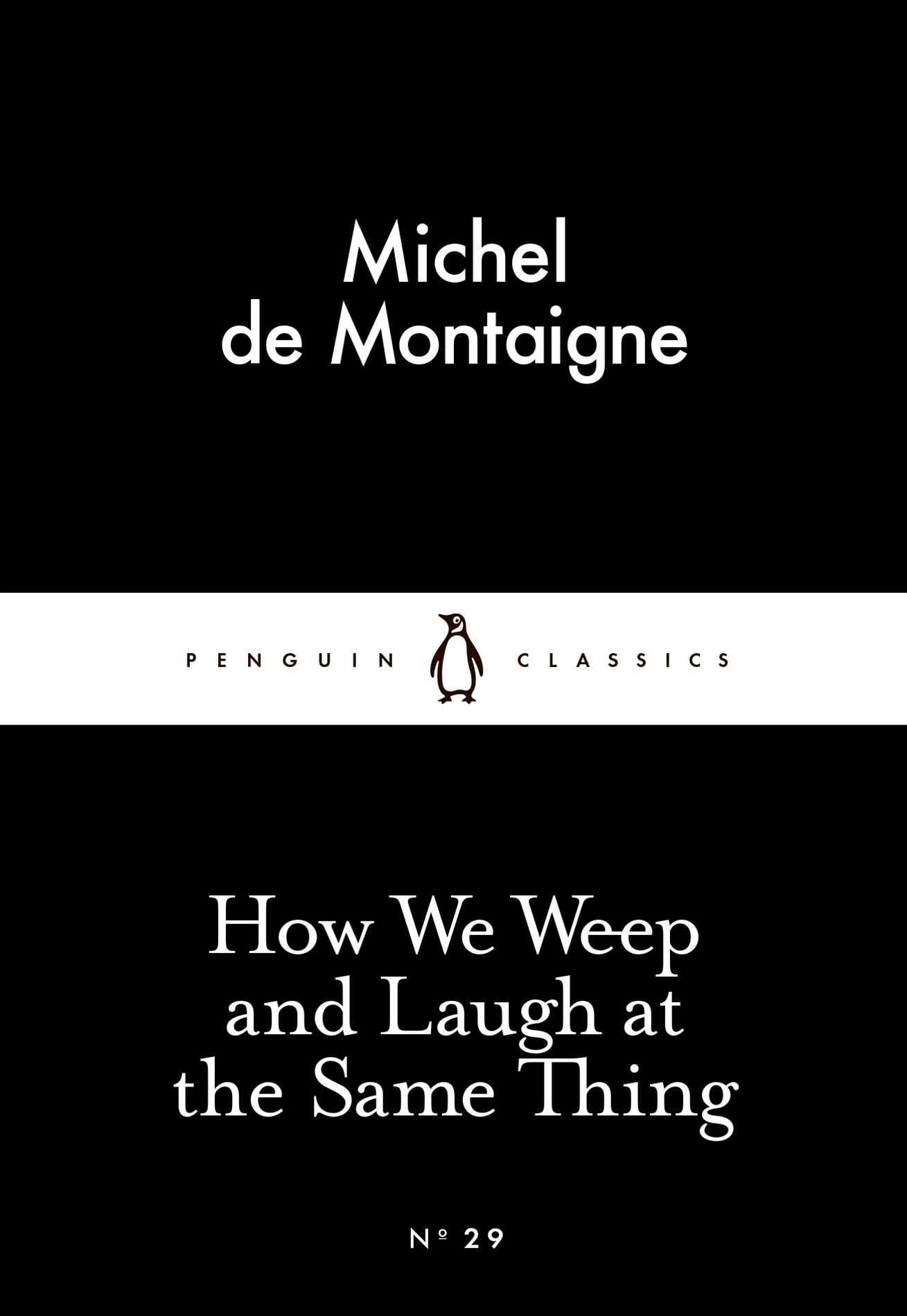 How We Weep And Laugh At The Same Thingcs: Penguin 80S
