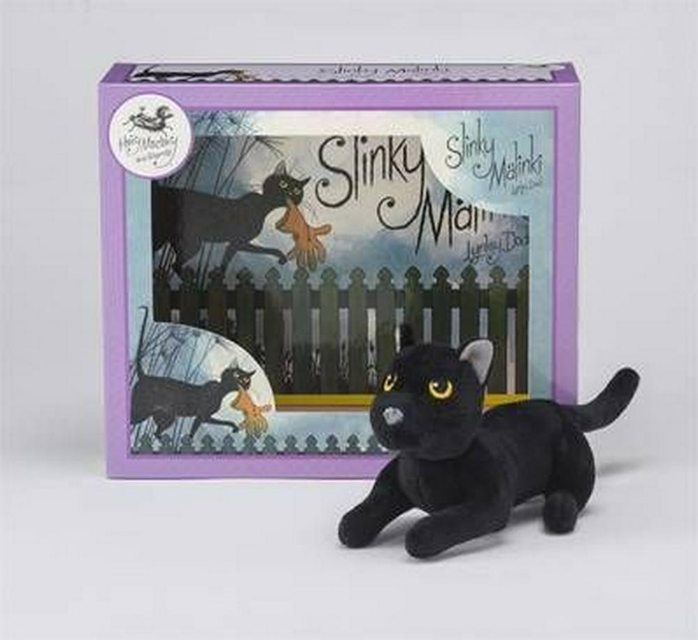 Slinky Malinki Book and Toy Set