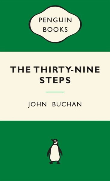 The Thirty-Nine Steps: Green Popular Penguins