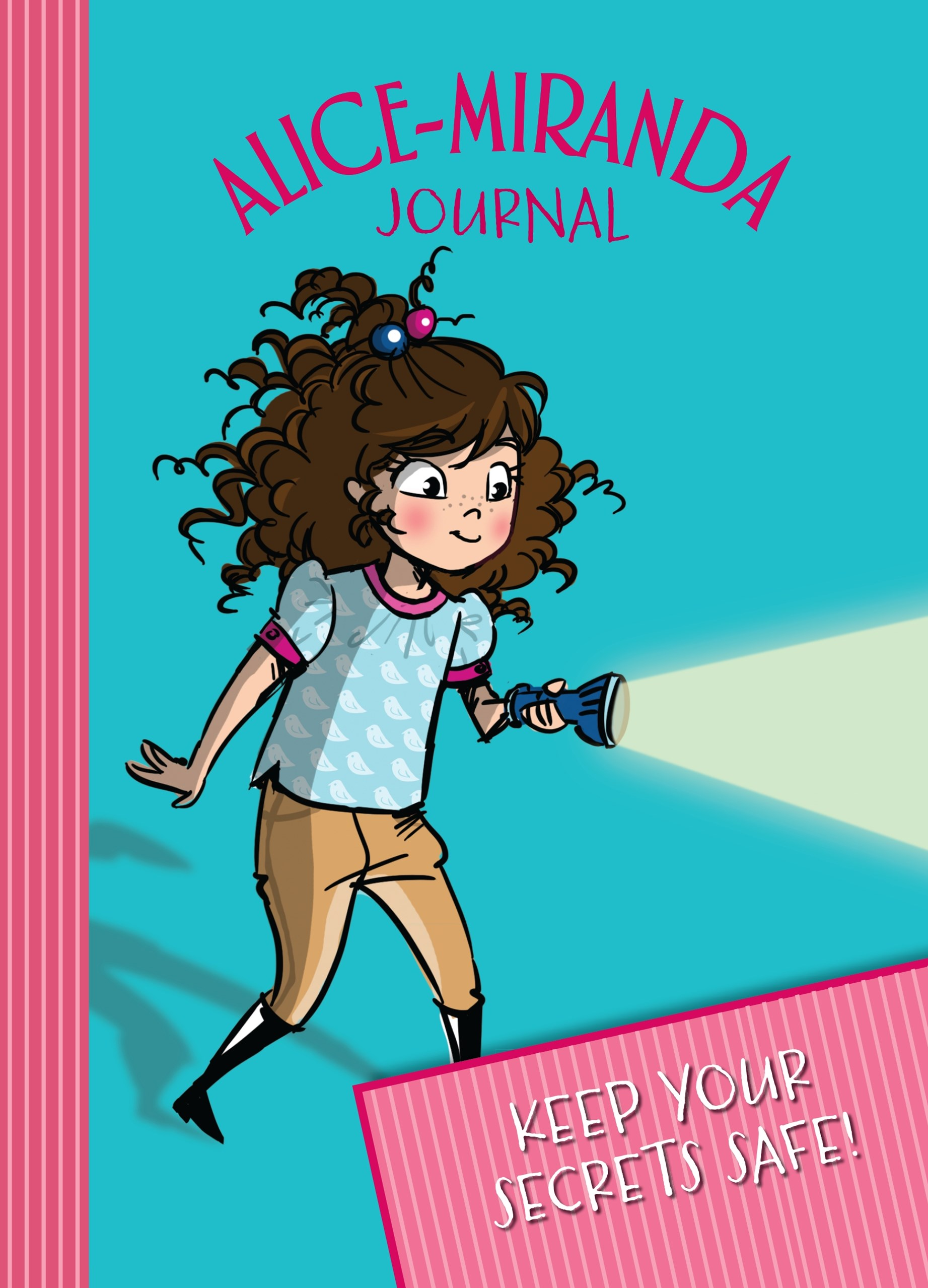 2016 Alice-Miranda Journal with Lock and Key