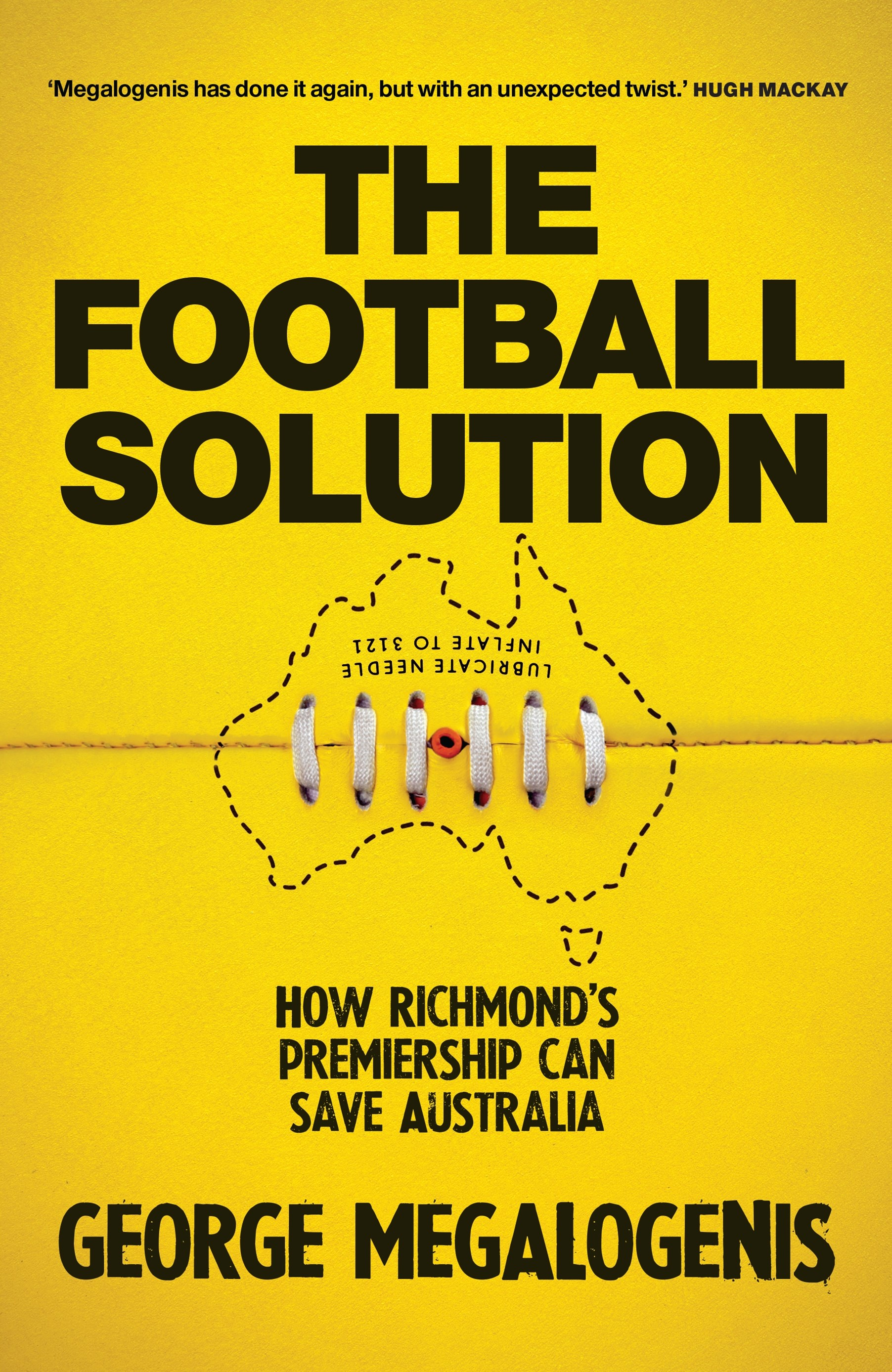The Football Solution: How Richmond's premiership can save Australia