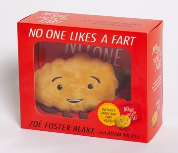 No One Likes a Fart Hardback Book and Plush Toy Box Set by Zoe Foster Blake, Adam Nickel (9780143794493) - HardCover - Picture Books