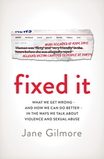 Fixed It by Jane Gilmore (9780143795506) - PaperBack - Social Sciences Gender