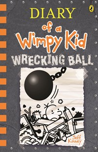 Wrecking Ball: Diary of a Wimpy Kid (14) by Jeff Kinney (9780143796046) - HardCover - Children's Fiction