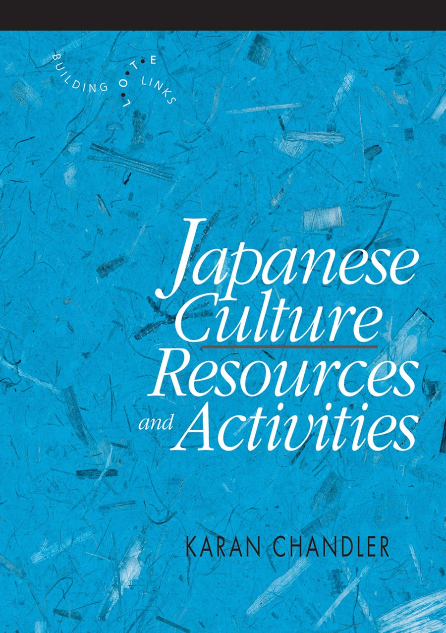 Japanese Culture: Resources and Activities Blackline Masters