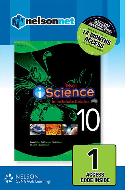 Nelson iScience Year 10 for the Australian Curriculum 1 Year Access Card