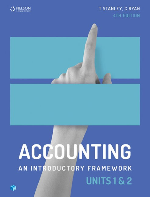 Accounting: An Introductory Framework Units 1 & 2
