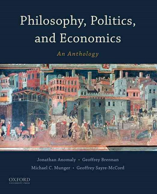 Philosophy, Politics, and Economics