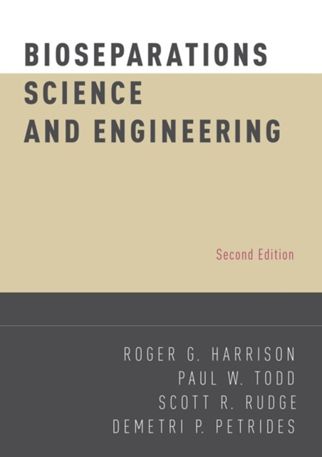 (ebook) Bioseparations Science and Engineering