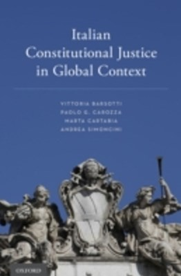 (ebook) Italian Constitutional Justice in Global Context