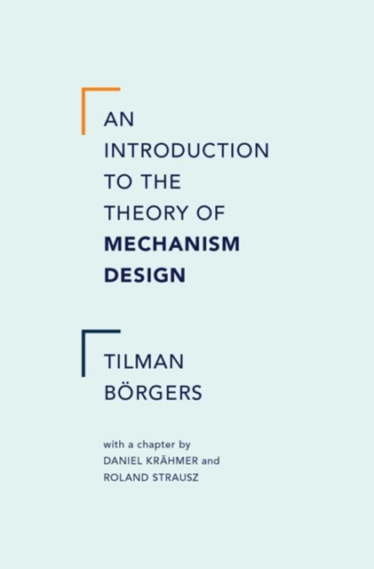 (ebook) Introduction to the Theory of Mechanism Design
