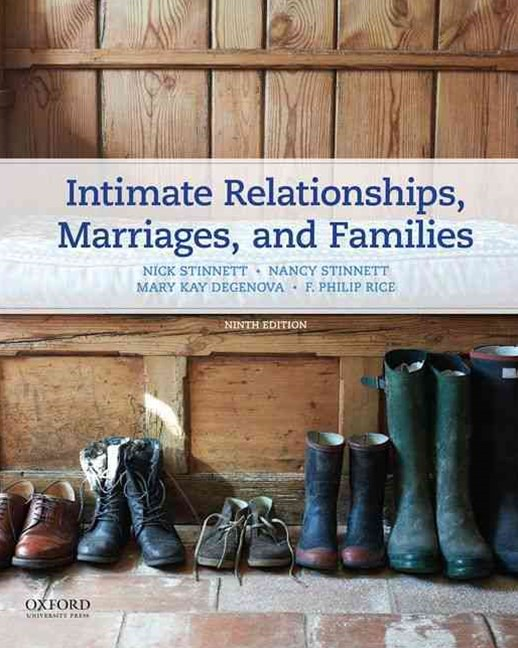Intimate Relationships, Marriages, and Families