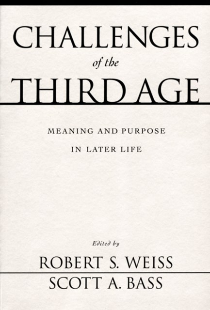(ebook) Challenges of the Third Age