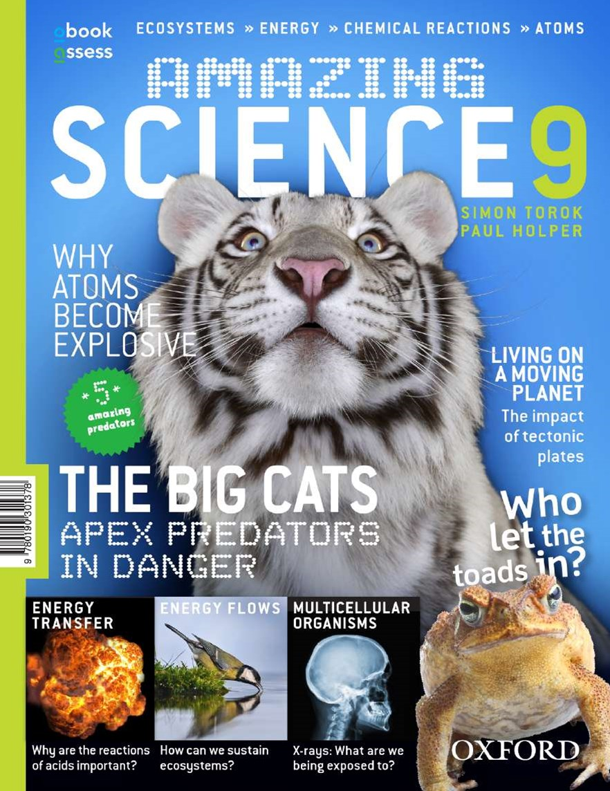 Amazing Science 9 Australian Curriculum Student Book + obook assess