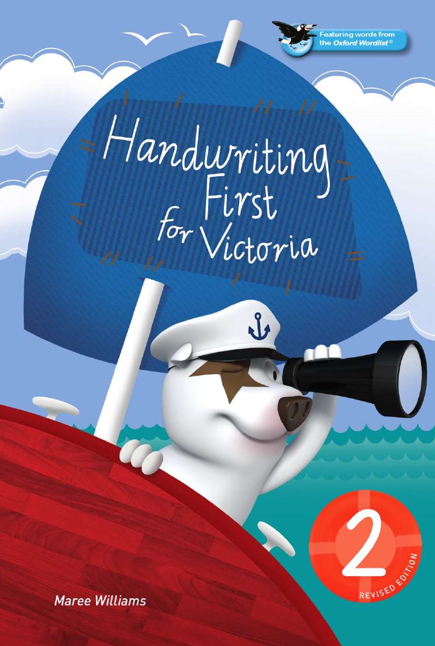Handwriting First for Victoria Revised Edition Year 2