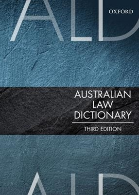 Australian Law Dictionary