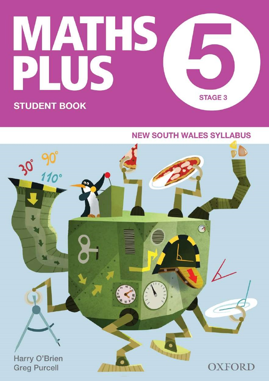 Maths Plus NSW Australian Curriculum Ed Student and Assessment Book 5 Value Pack