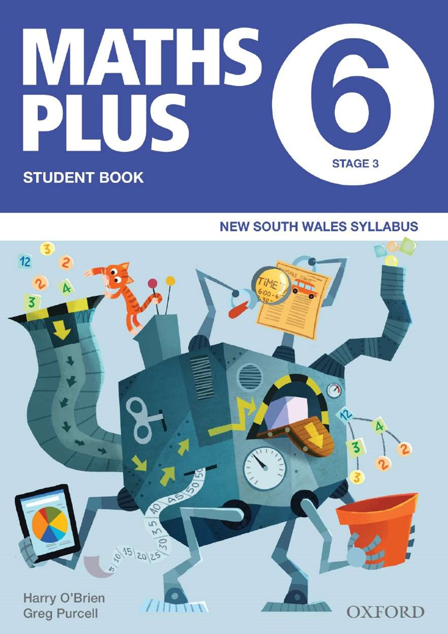 Maths Plus NSW Australian Curriculum Ed Student and Assessment Book 6 Value Pack