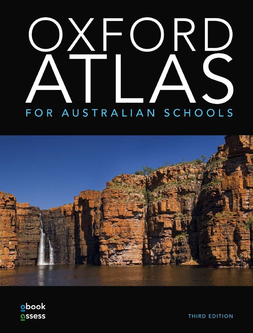 Oxford Atlas for Australian Schools + obook assess