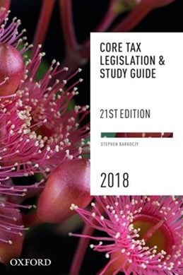 Core Legislation & Study Guide 2018