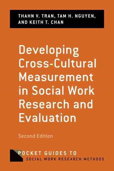 Developing Cross-Cultural Measurement in Social Work Research and Evaluation