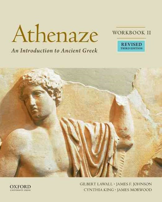Athenaze Student Workbook 2 Revised Edition