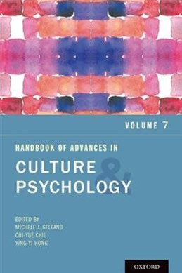 Handbook of Advances in Culture and Psychology