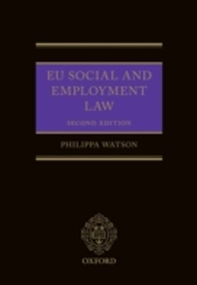 EU Social and Employment Law 2E