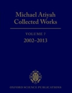(ebook) Michael Atiyah Collected Works - Science & Technology Mathematics