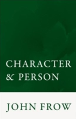 Character and Person