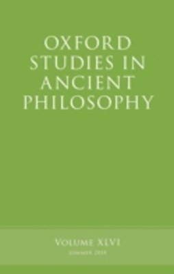 (ebook) Oxford Studies in Ancient Philosophy, Volume 46