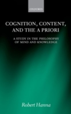 (ebook) Cognition, Content, and the A Priori