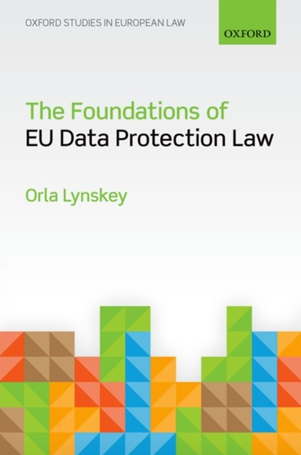 (ebook) Foundations of EU Data Protection Law