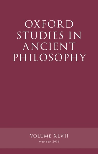 (ebook) Oxford Studies in Ancient Philosophy, Volume 47