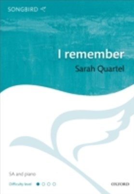 I remember: Vocal score