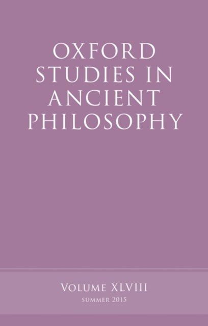 (ebook) Oxford Studies in Ancient Philosophy, Volume 48