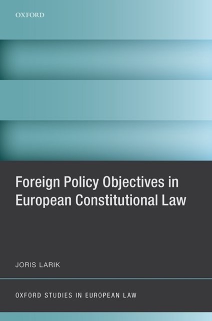 (ebook) Foreign Policy Objectives in European Constitutional Law