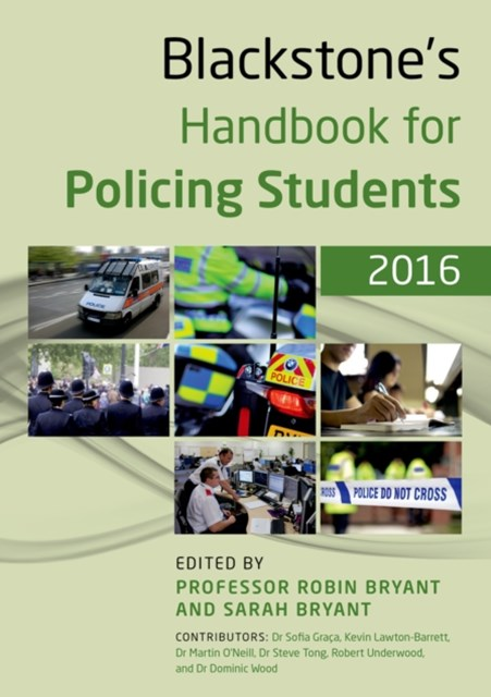 Blackstone's Handbook for Policing Students 2016