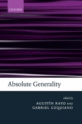 (ebook) Absolute Generality
