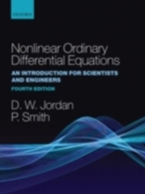 (ebook) Nonlinear Ordinary Differential Equations