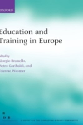 (ebook) Education and Training in Europe