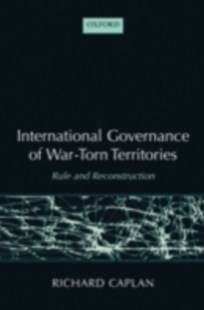 (ebook) International Governance of War-Torn Territories - Military