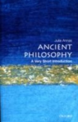(ebook) Ancient Philosophy: A Very Short Introduction