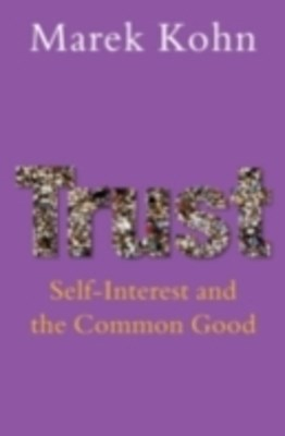 (ebook) Trust: Self-interest and the common good