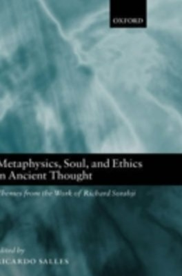 (ebook) Metaphysics, Soul, and Ethics in Ancient Thought