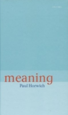 (ebook) Meaning