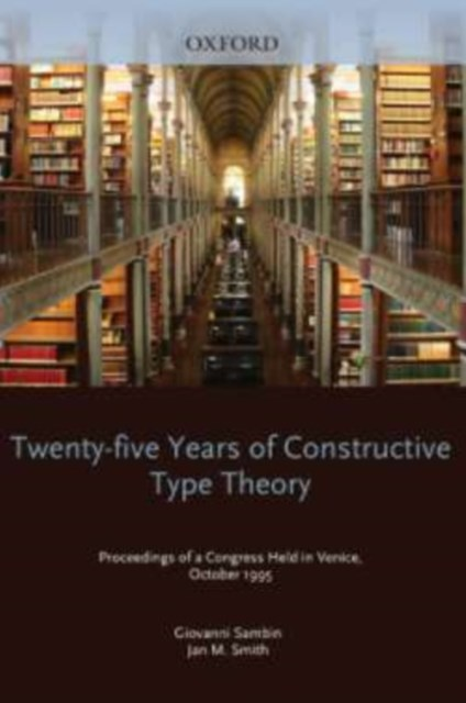 (ebook) Twenty Five Years of Constructive Type Theory
